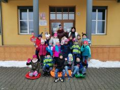 Venku mráz, ve škole teploučko (leden 2021)