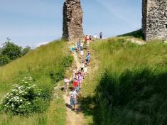 Výlet na hrad Brníčko 3.A